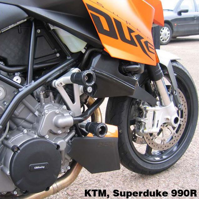 Motorcycle Frame Slider Protector KTM 990 SUPERDUKE R 950 R